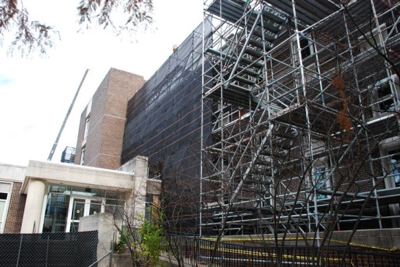 scaffolding, scaffold, pinnacle scaffold, non union, open shop, University of Delaware, Colburn Lab, DE, access, 372.jpg