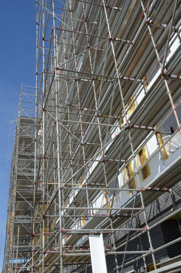 pinnacle scaffold, scaffolding, scaffold, hyatt place, DE, non union, open shop, scaffold rental, 3678
