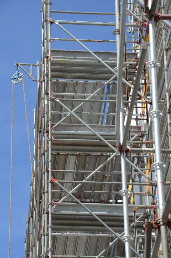 pinnacle scaffold, scaffolding, scaffold, hyatt place, DE, non union, open shop, scaffold rental, 3679